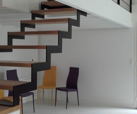 Agencement : escalier sur mesure – Clisson (44)